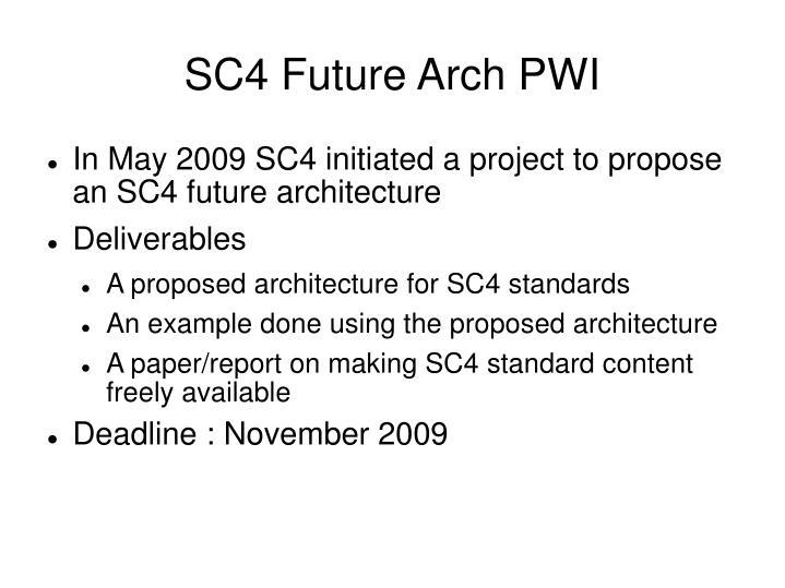 SC4 Future Arch PWI