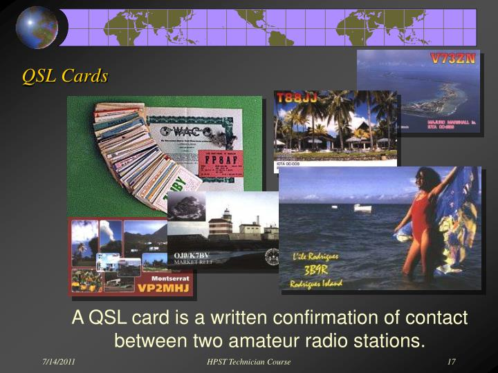 QSL Cards