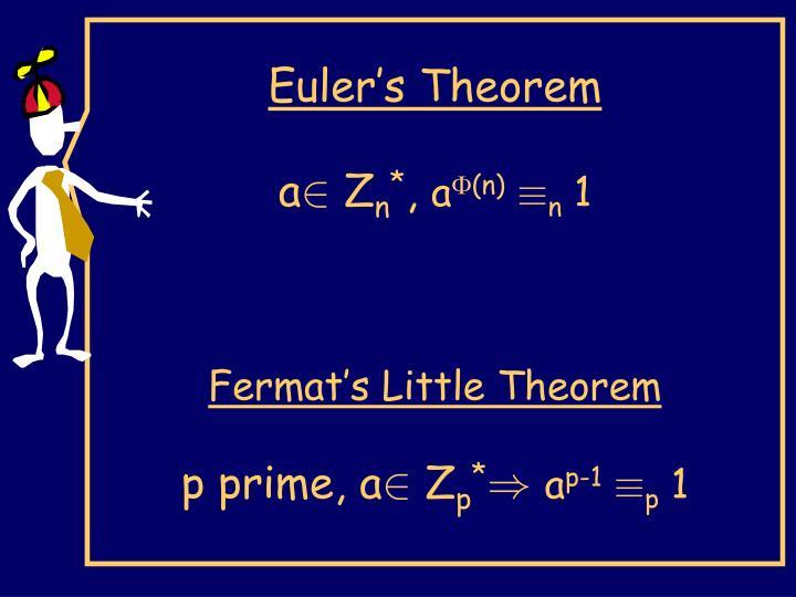 Euler's Theorem