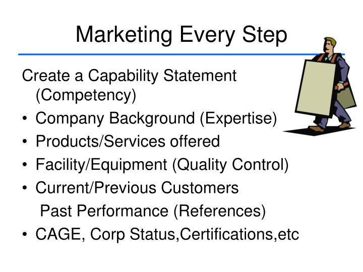 Marketing Every Step