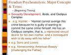freudian psychoanalysis major concepts terms1