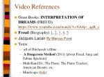 video references