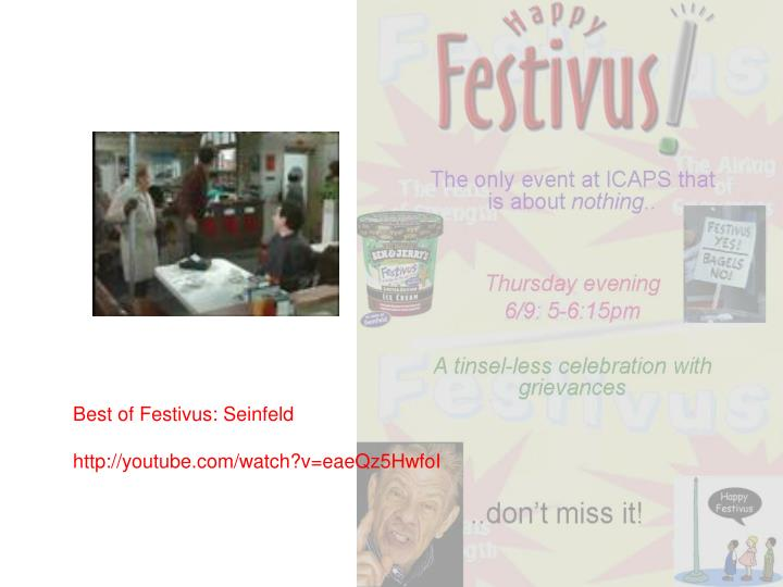 Best of Festivus: Seinfeld