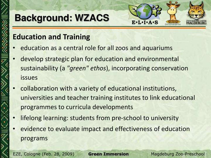 Background: WZACS