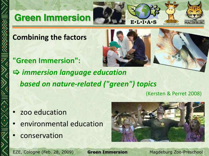 Green Immersion