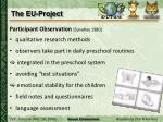 the eu project2