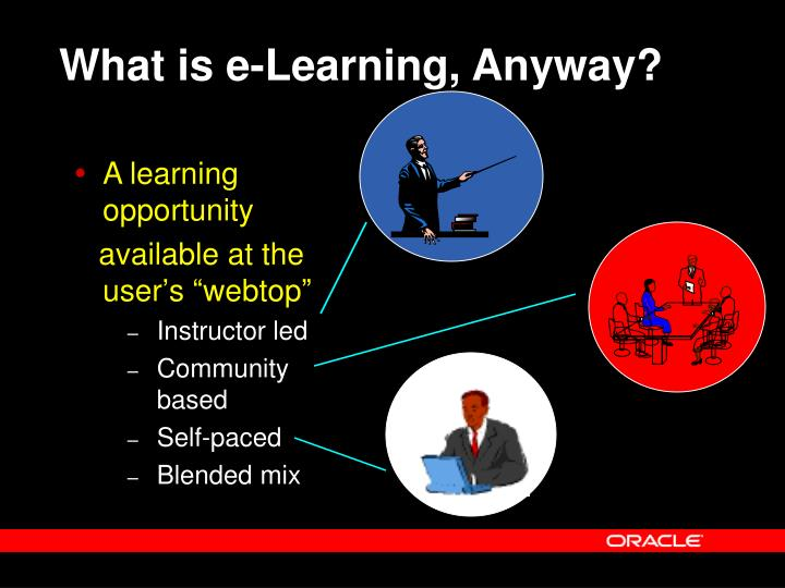 What is e-Learning, Anyway?