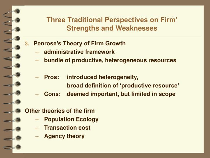 dispositional trait approach to personality strengths and weaknesses This ease of understanding makes trait theory easy to implement, facilitating its use in the development of several assessment devices for patients its major weakness is that it does not fully address why or how traits develop due to its statistical nature, trait theory offers no clarification of personality development continue.