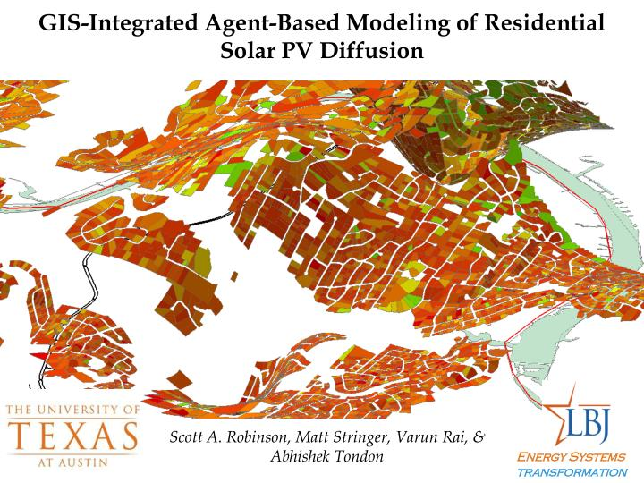 GIS-Integrated Agent-Based Modeling of Residential Solar PV Diffusion