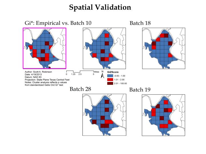 Spatial Validation