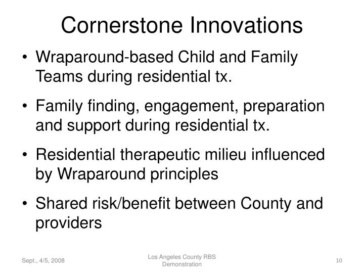 Cornerstone Innovations