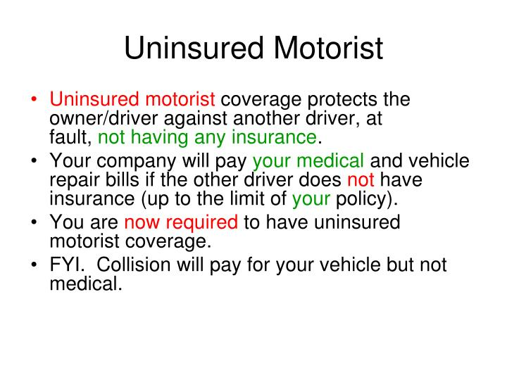 Uninsured Motorist