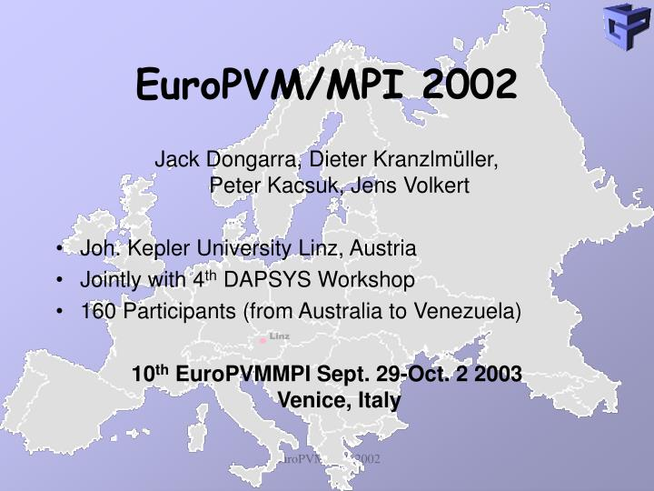 EuroPVM/MPI 200