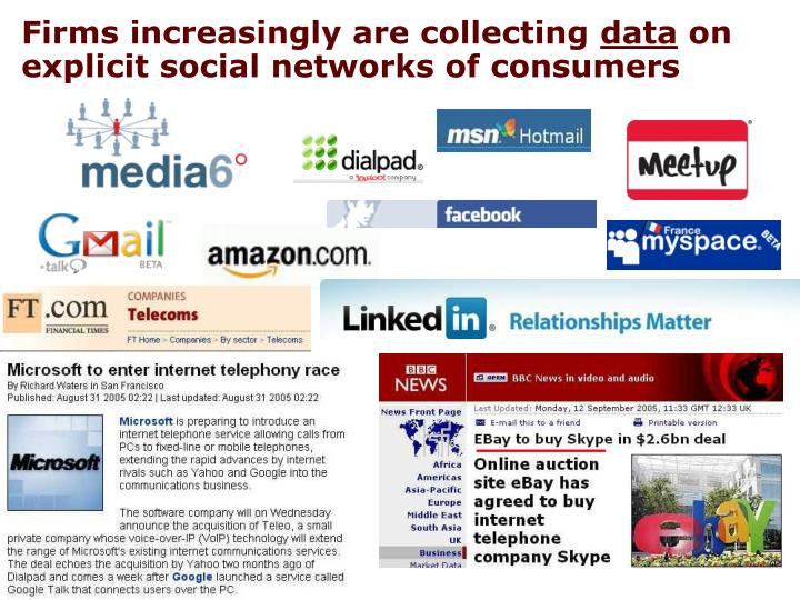 Firms increasingly are collecting