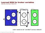 learned rdn for broker variables neville jensen jmlr 07