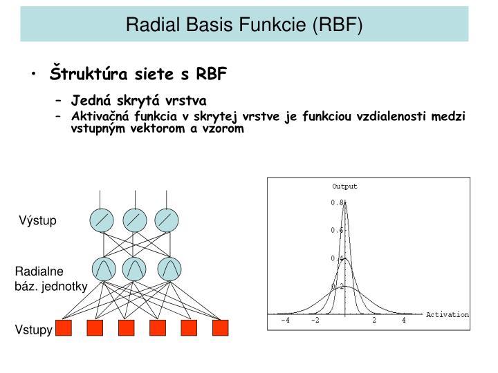 Radial Basis Fun