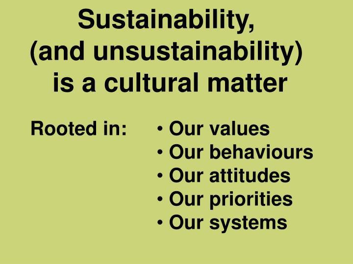 Sustainability,