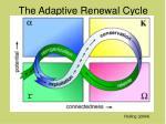 the adaptive renewal cycle