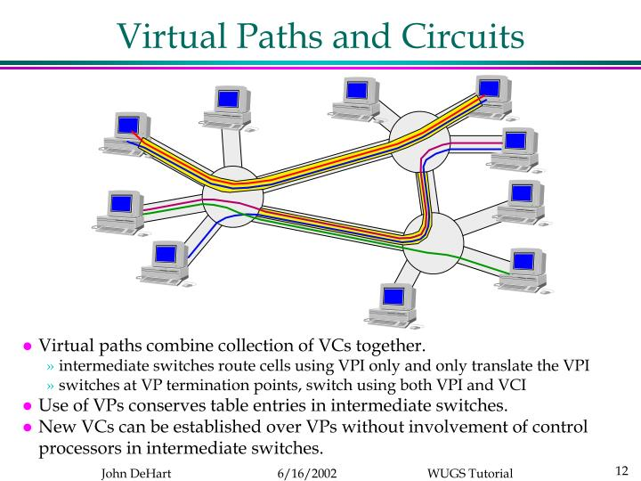 Virtual Paths and Circuits