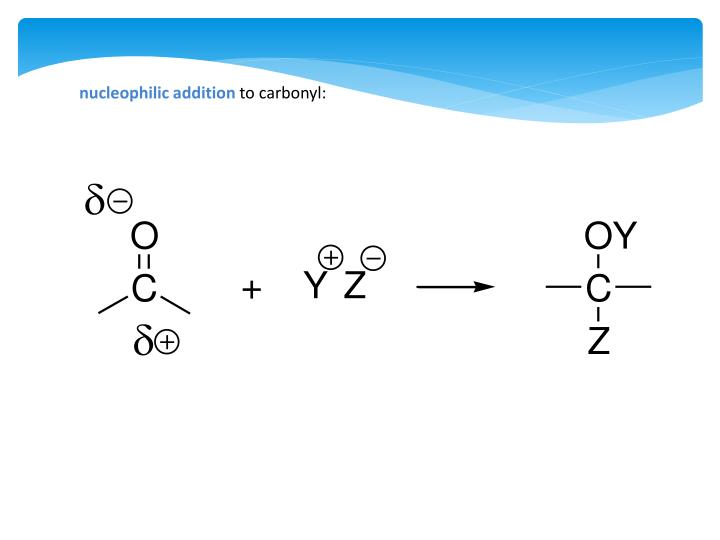 nucleophilic addition