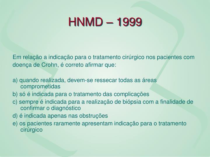 HNMD – 1999