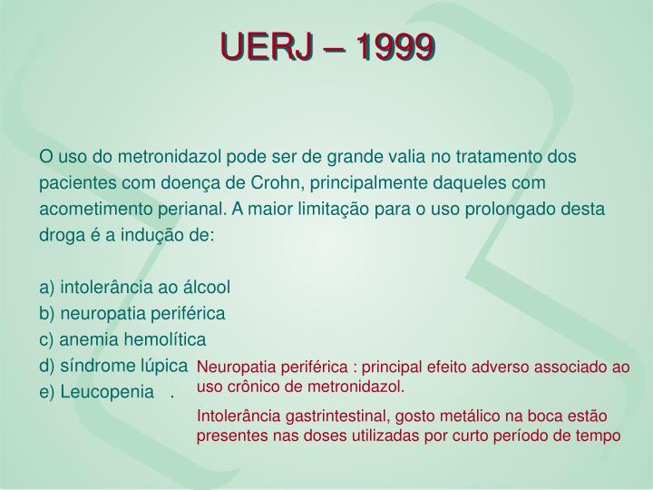 UERJ – 1999
