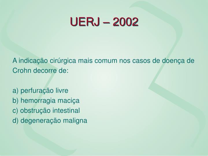 UERJ – 2002