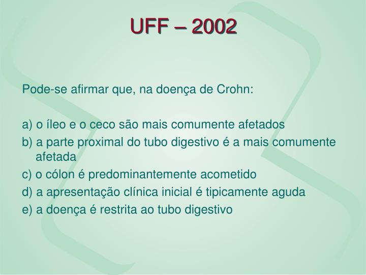 UFF – 2002