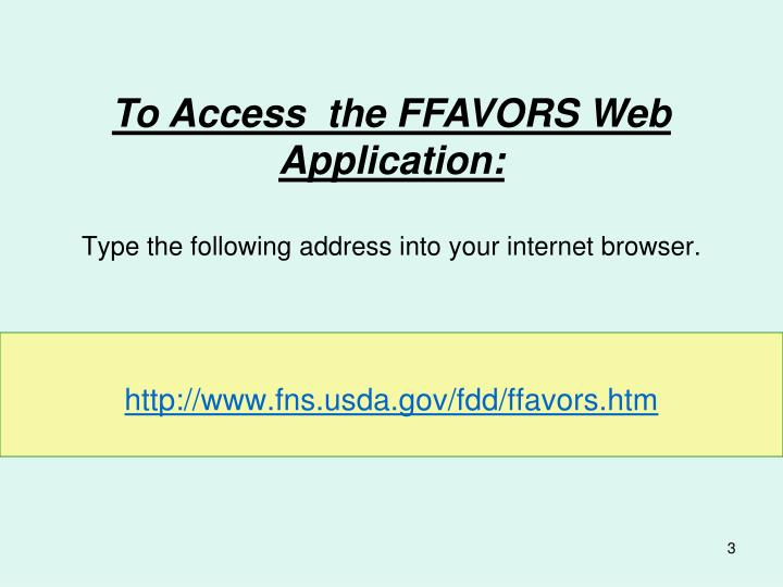 Type the following address into your internet browser