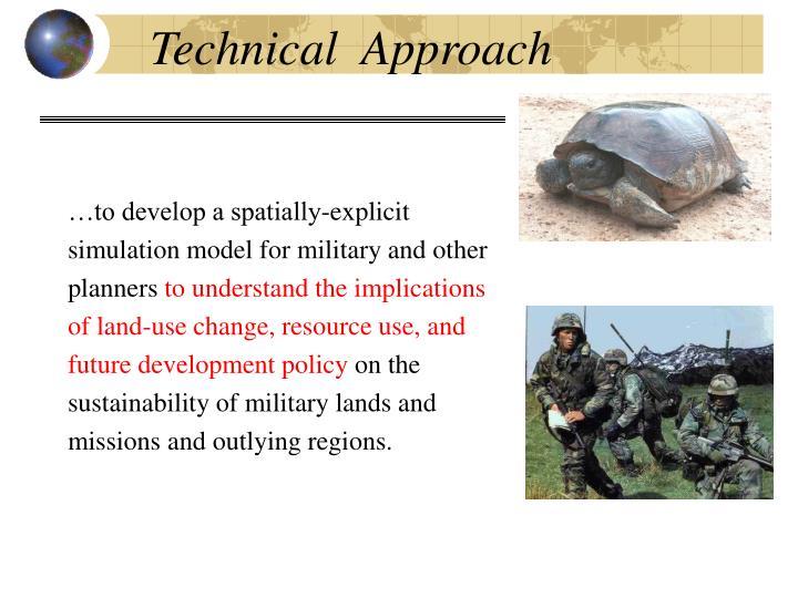Technical  Approach