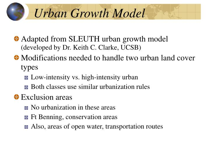 Urban Growth Model
