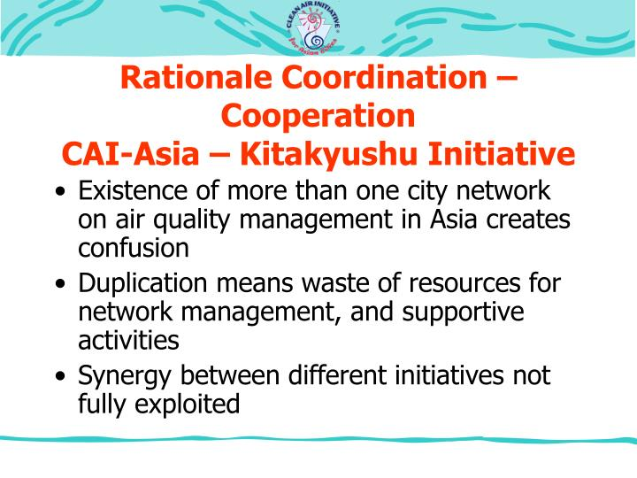 Rationale Coordination – Cooperation
