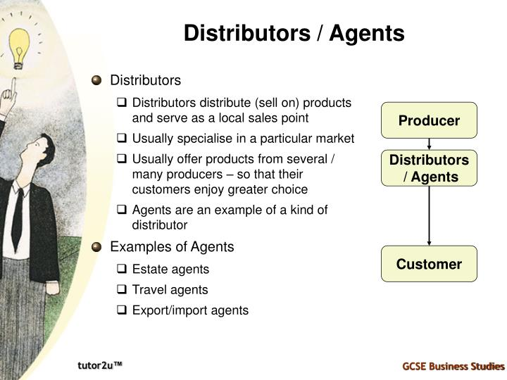 Distributors / Agents