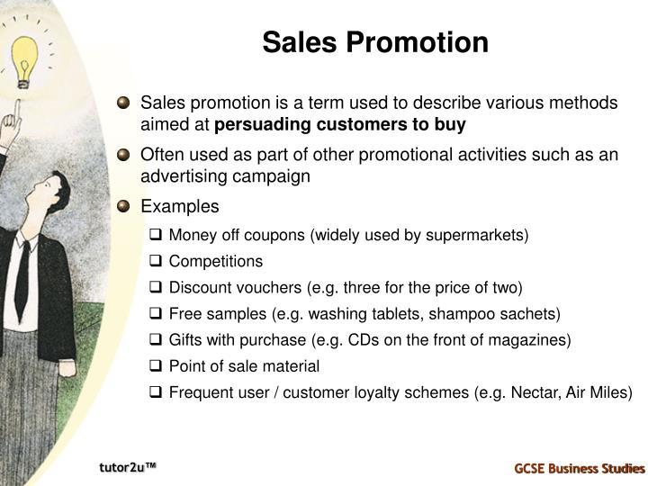 Sales Promotion