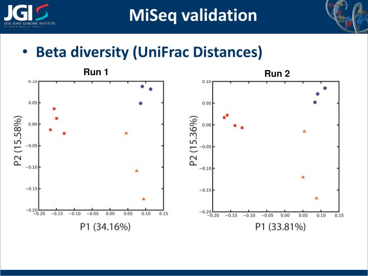 MiSeq validation