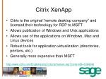 citrix xenapp