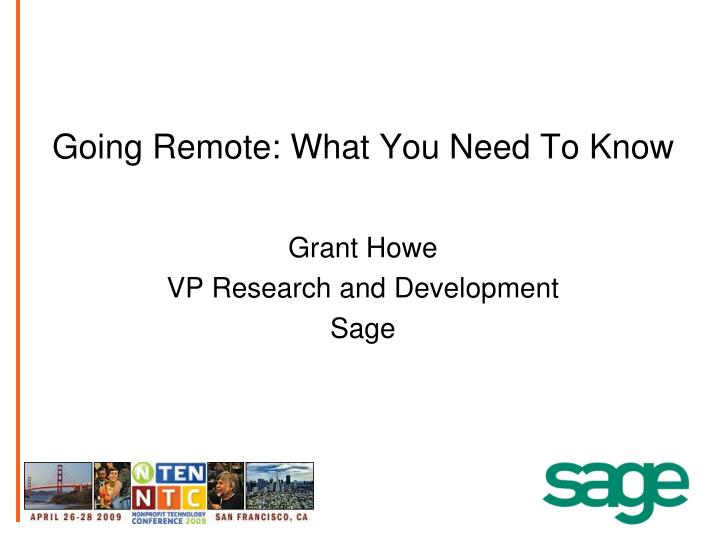 going remote what you need to know