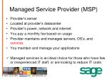 managed service provider msp
