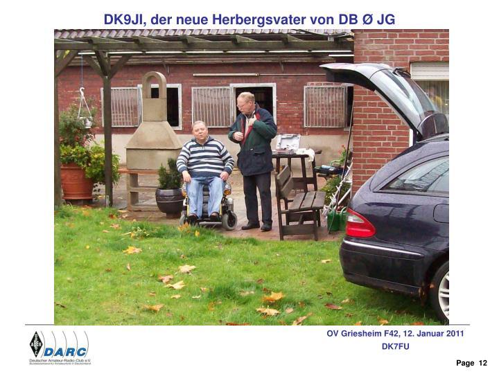DK9JI, der neue Herbergsvater von DB