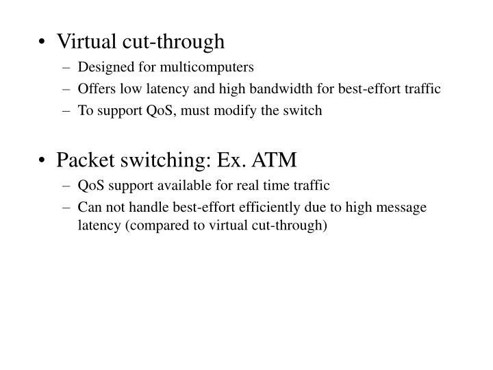 Virtual cut-through