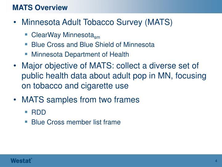 MATS Overview