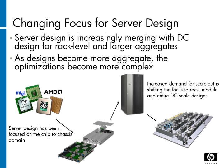 Changing Focus for Server Design