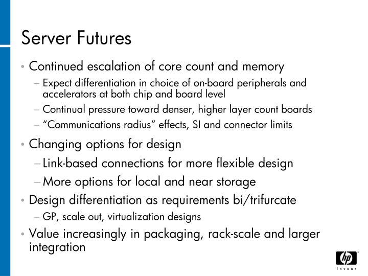Server Futures