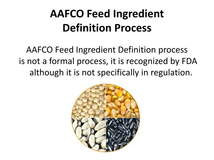 AAFCO Feed Ingredient