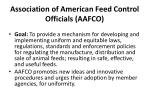 association of american feed control officials aafco1
