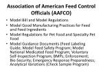 association of american feed control officials aafco6