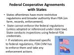 federal cooperative agreements with states1