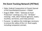pet event tracking network petnet1