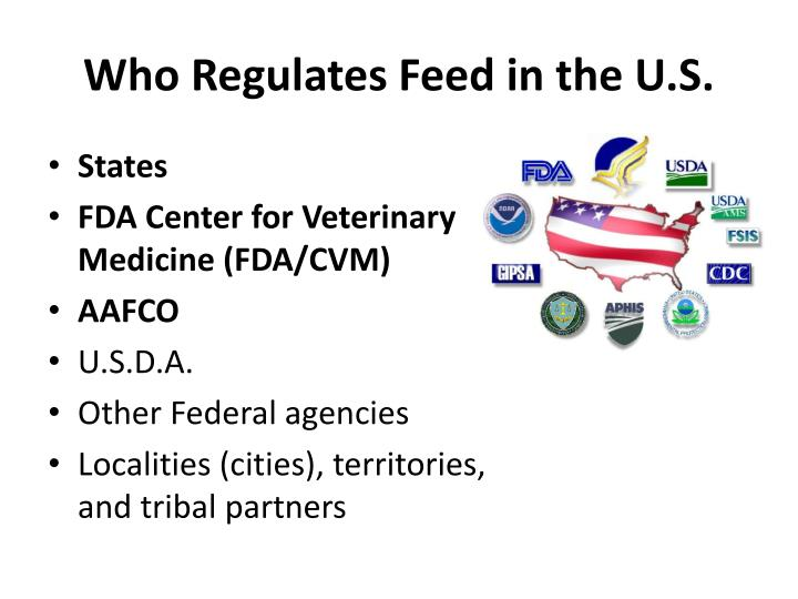 Who regulates feed in the u s