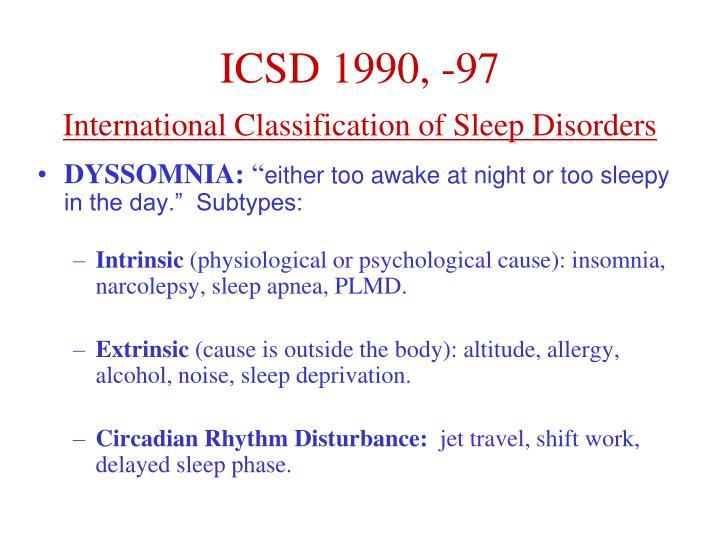 ICSD 1990, -97
